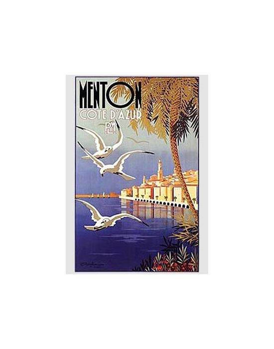Affiche Menton