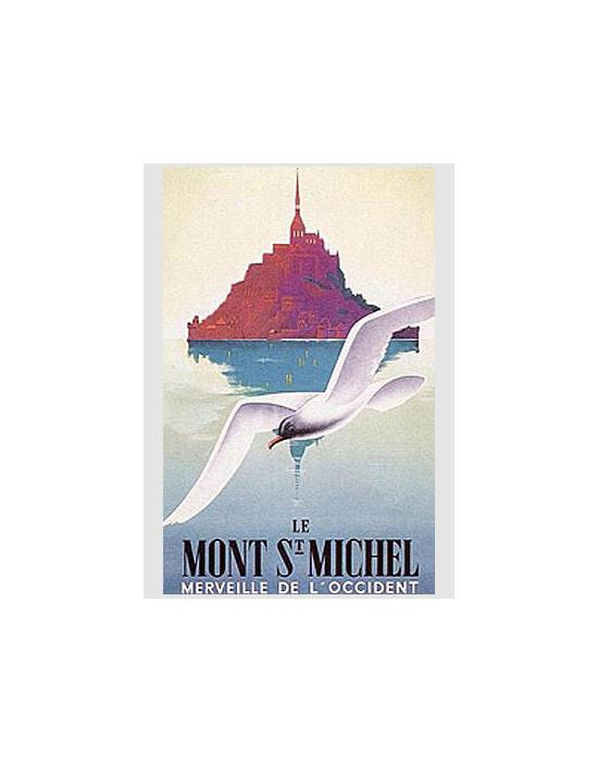 Affiche Mont St Michel