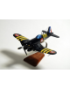 Maquette avion du Corsair F4U-7 French Navy Vought en bois