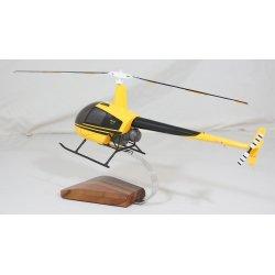 maquette helicoptere Robinson R22