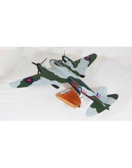 Maquette avion De Havilland DH.98 Mosquito en bois