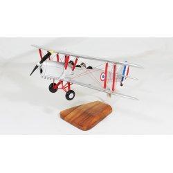 Maquette avion Stampe SV4 - F.A.F - en bois