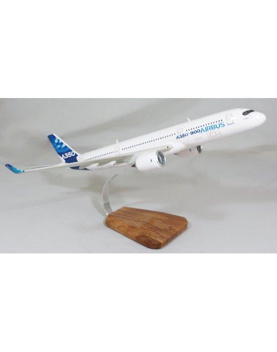 Maquette avion A350-900 en bois