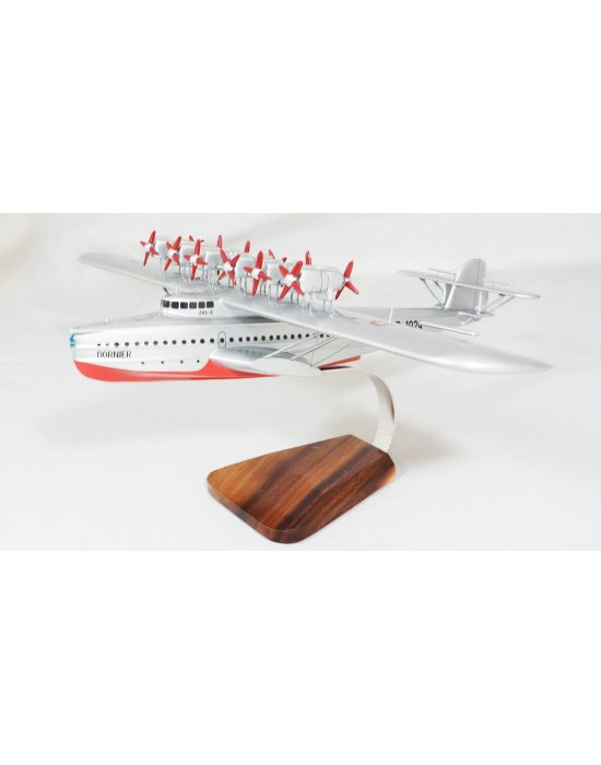 Maquette Dornier Do.X Lufthansa en bois