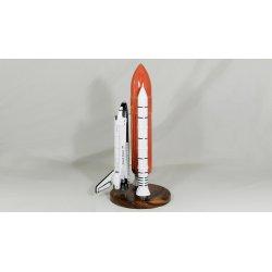 Maquette en bois de l' US Space Shuttle 'Challenger' Booster