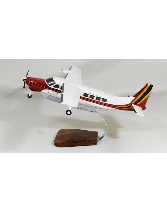 Maquette avion Cessna 208B Grand Caravan en bois