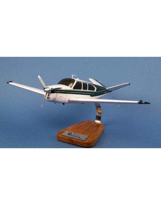 Maquette avion Beech Aircraft Bonanza V35 Civil en bois
