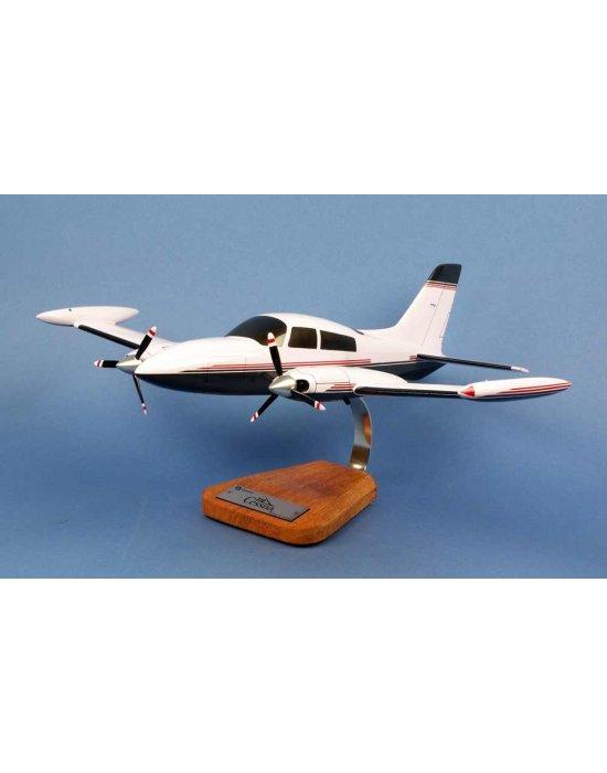 Maquette avion Cessna 310 Civil en bois