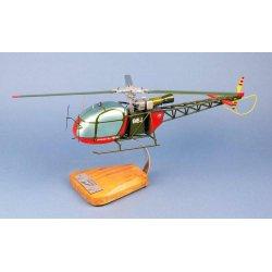 Maquette hélicoptère Alouette 2 SE313 ALAT en bois