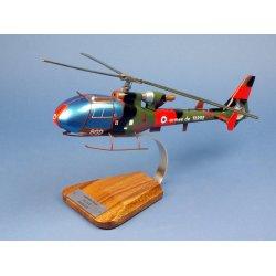 maquette hélicoptère gazelle AS341F