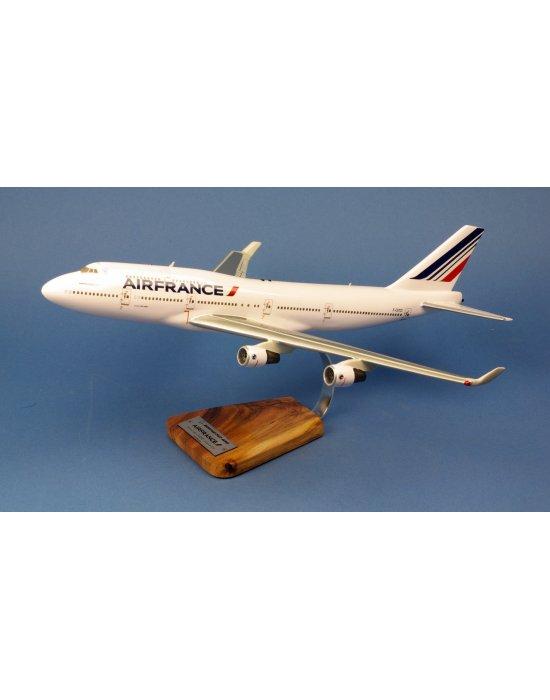 Maquette avion Boeing 747-400 Air France F-GITD Last Flight
