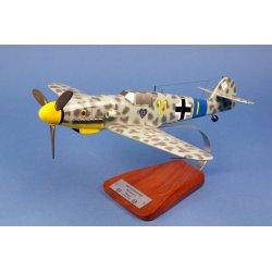 Maquette avion Messerschmitt Me-109 G5 9/JG54 Uffz.G.Kroll en bois