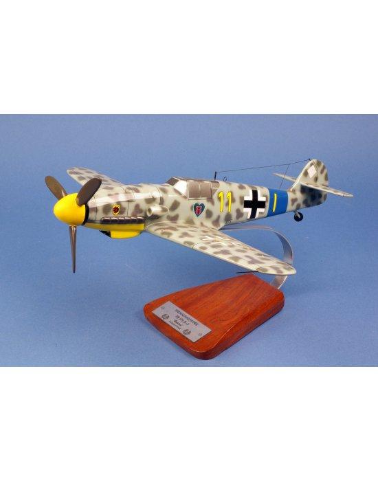 Maquette avion Messerschmitt BF.109 G5 en bois