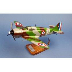 Maquette avion Bloch MB152.C1 Cpt L.Delfino 4esc GCII/9 en bois