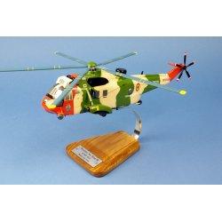 Maquette helicoptere Westland Sea King MK.48 en bois
