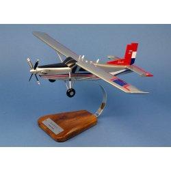 Maquette avion Pilatus PC 6 Turbo Porter en bois