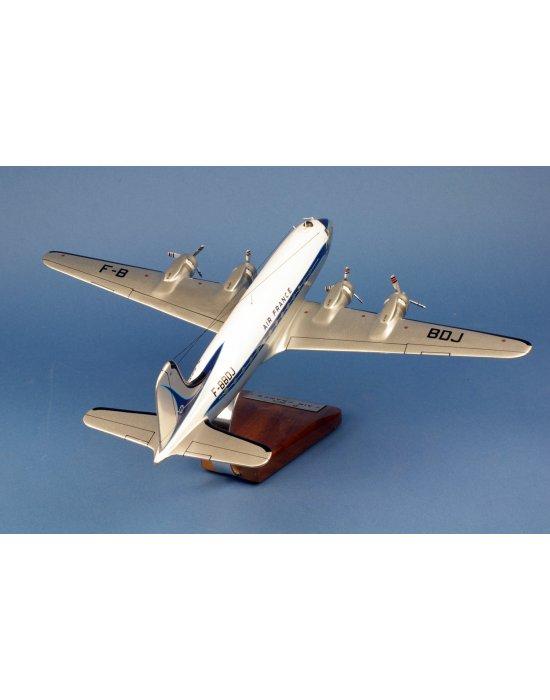 Maquette avion Douglas DC-4 Air France F-BBDJ 1er Paris-NY en bois