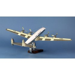 Maquette avion Lockheed L-1649A Super Starliner Air France F-BHBL en bois