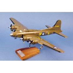Maquette avion Boeing Flying Fortress B17 Memphis Belle en bois
