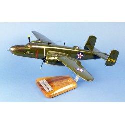 Maquette avion B-25B Mitchell Tokyo Raid J.Doolittle en bois