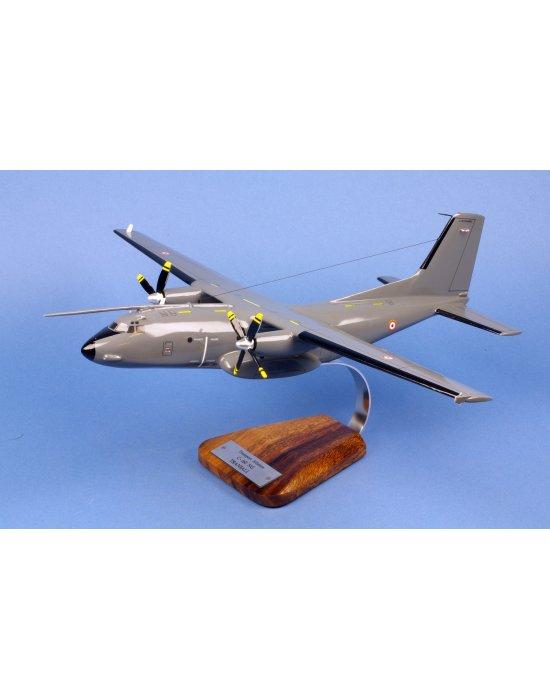 Maquette avion C-160 Transall NG gris en bois