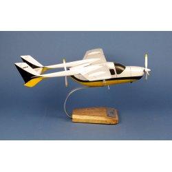 Maquette avion Cessna 337 Skymaster en bois