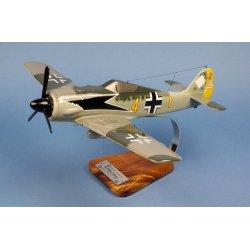 Maquette avion Focke Wulf 190A 9./JG2 en bois