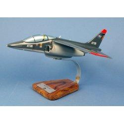 Maquette avion Alpha Jet 1B Composante Air / Luchtcomponent en bois