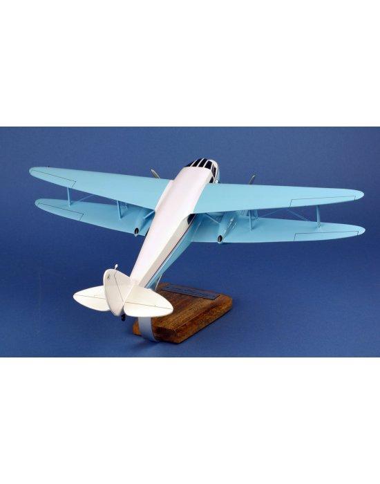 Maquette avion De Havilland 89 Dragon Rapide en bois