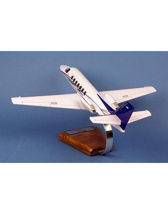 Maquette avion Cessna 550B Citation II Bravo en bois