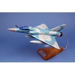 Maquette avion du Mirage 2000-5 en bois