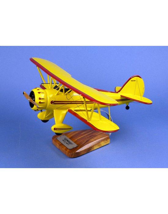 Maquette avion Waco YMF 5 en bois