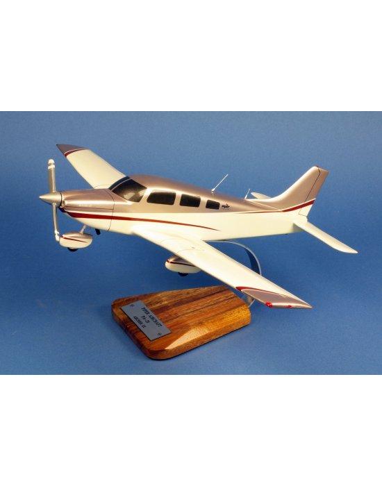 Maquette avion Piper PA-28 Archer III en bois