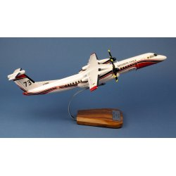 Maquette avion Dash 8-Q400MR Fireguard Milan 73 Sécurité Civile en bois