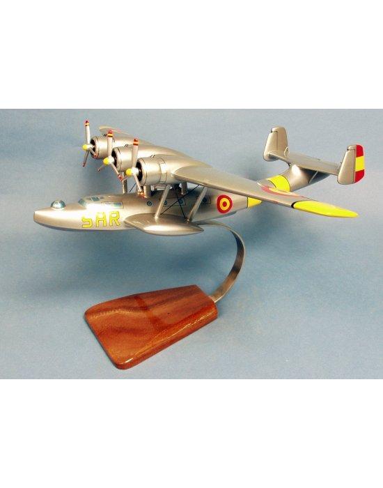 Maquette avion Dornier Do.24 Esc.58 SAR Ejercito del Aire en bois