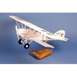 Maquette avion Potez 25 TOE Aéropostale H.Guillaumet en bois