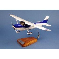 Maquette avion Cessna 172 Skyhawk en bois