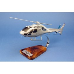 Maquette Hélicoptère AS555 FENNEC Armée de l'Air en bois