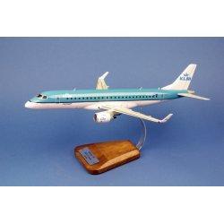 (Arrivage fin octobre 2019) Embraer 190 KLM Cityhopper en bois