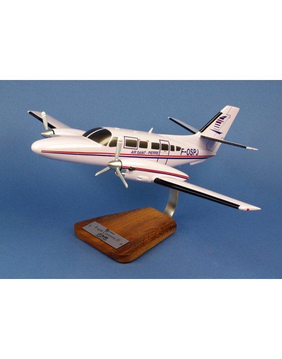 Maquette avion Cessna F 406 Caravan II EAAT en bois
