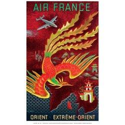 Affiche Air France - Orient Extrême Orient