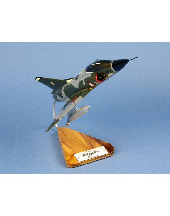 Maquette avion Dassault Mirage III.B en bois