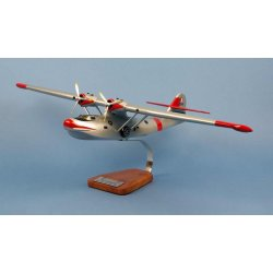 maque avion Catalina PBY-5 Pélican Rouge Sécurité Civile F-ZBAR en bois