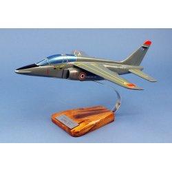Maquette avion Alpha Jet E en bois