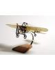Maquette avion Bleriot XI Civil en bois
