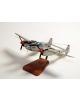 Maquette Lockheed P-38 Lightning J-LO Marge R.Bong en bois