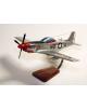 Maquette avion NorthAmerican P-51D Mustang R Runner III USAAF