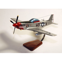 "maquette avion P-51D Mustang""Ridge Runner III"" Pierce Winningham ""Mac"" Kennon"