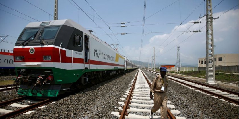 En Ethiopie, inauguration d'un train électrique reliant la capitale Addis-Abeba à Djibouti